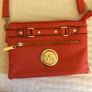 Michael Kors coral purse